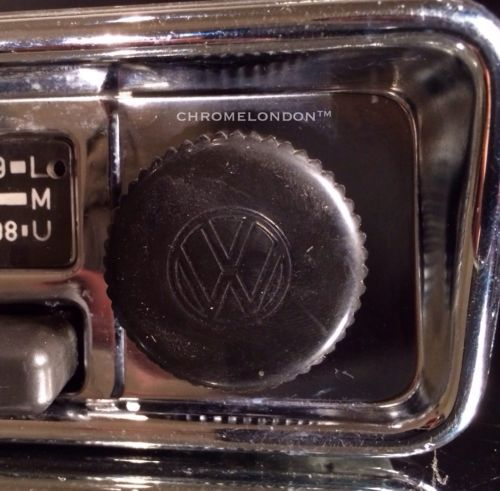 blaupunkt vw oem vintage chrome classic car fm radio mp lead fully working